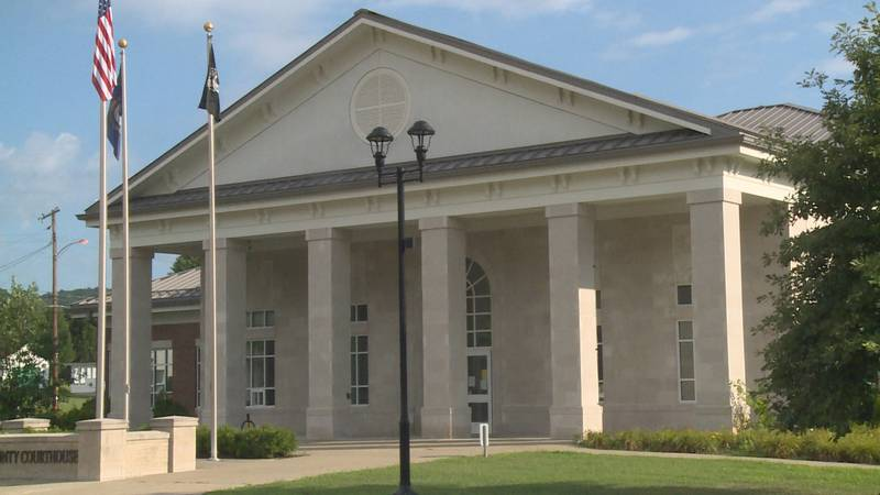 The county dashboard showed the latest information about new cases, the incidence rate, and the...