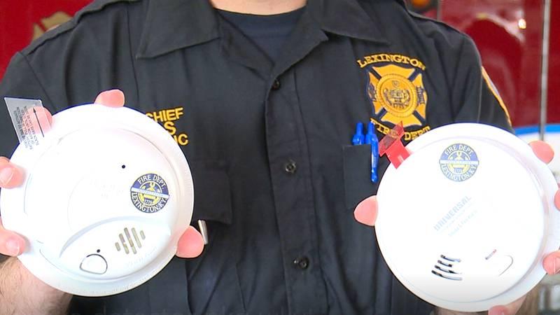 Lexington Fire Department Smoke Detectors
