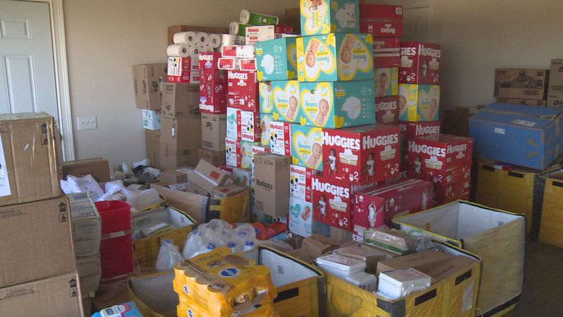 A local priest received a huge response when he asked for supplies he would donate to people...