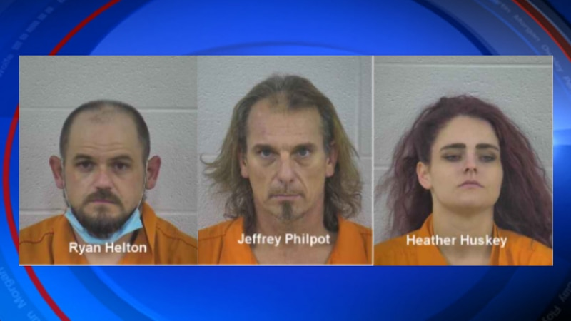 Three arrested on drug charges in Laurel County