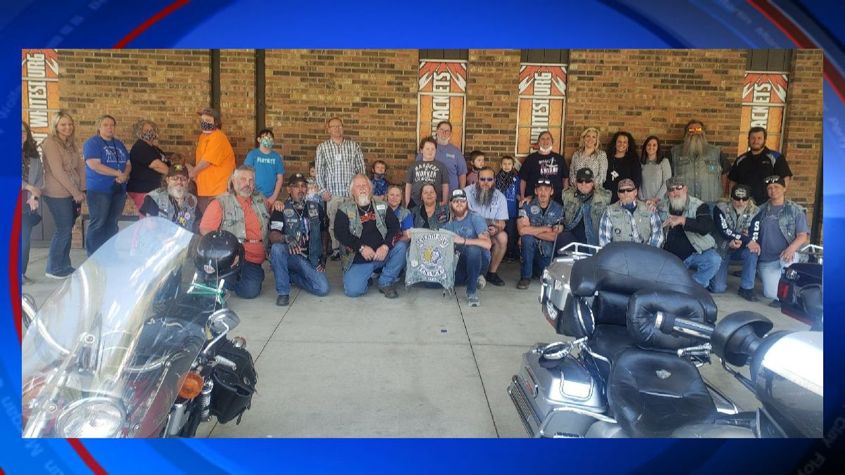 The Seventh Sons Motorcycle Club recently raised more than $1,700 dollars for students in the...