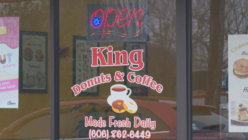 Owners of King Donuts in London say they are leaning on the help of others to get through.