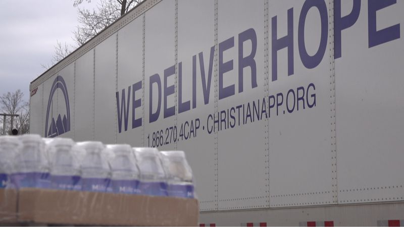 Christian Appalachian Projects brings supplies to Breathitt County