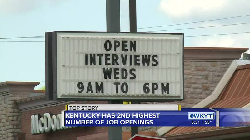 It's another sign of the challenges facing Kentucky's employers, new statistics show the...