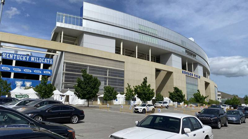 University of Kentucky officials say low demand is the reason the Kroger Field location will...