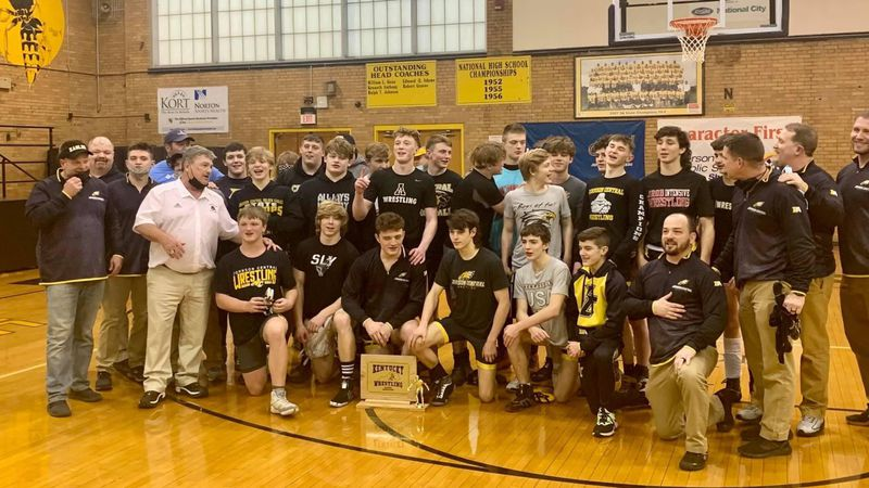 Johnson Central wins state title in wrestling