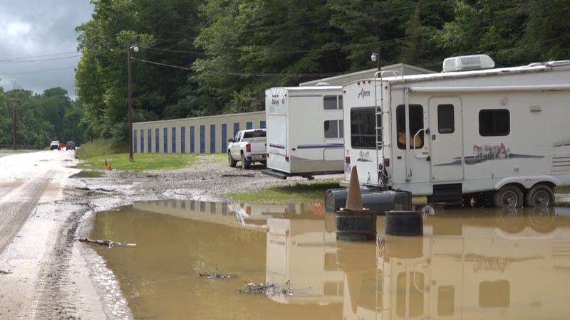 Lee County experiences flash flood event
