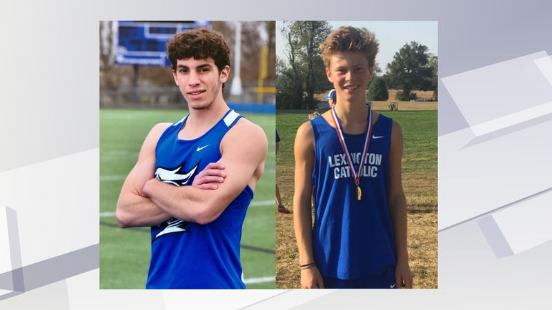 Lexington Catholic officials have identified the victims as junior David Cervoni (right) and...