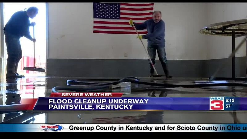 Johnson County flood cleanup