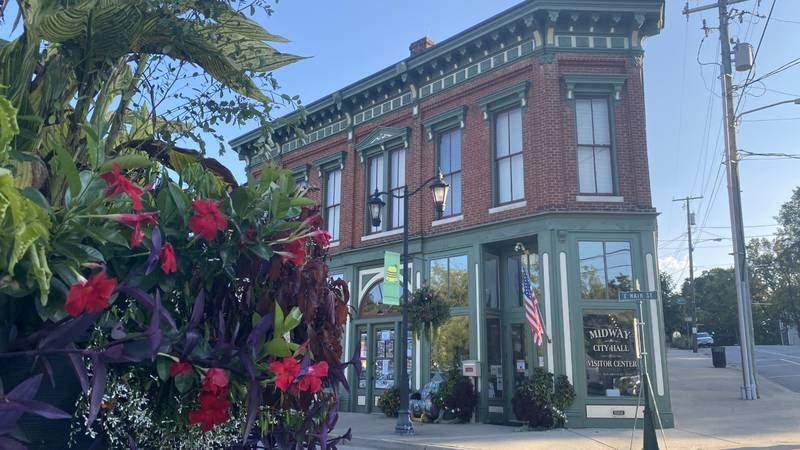 A town with a population of just 1,700 people, Midway's Main Street could host around 15,000...