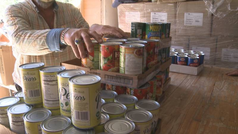 Thankful Hearts Food Pantry feeds thousands of families each month and has a slew of volunteers...