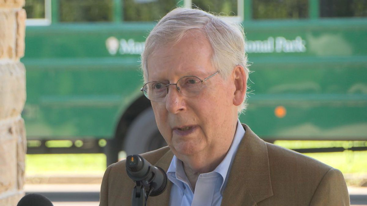 Senator Mitch McConnell visited south central Kentucky on Monday. McConnell first stopped at...