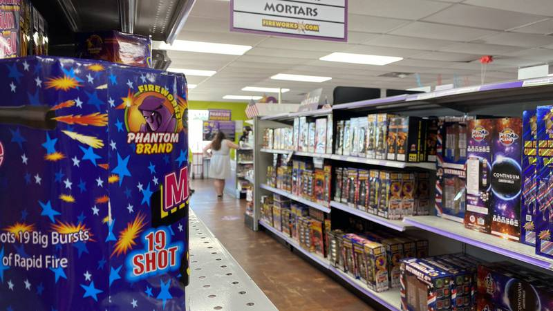 A fireworks shortage could dim the sparkle of this 4th of July.