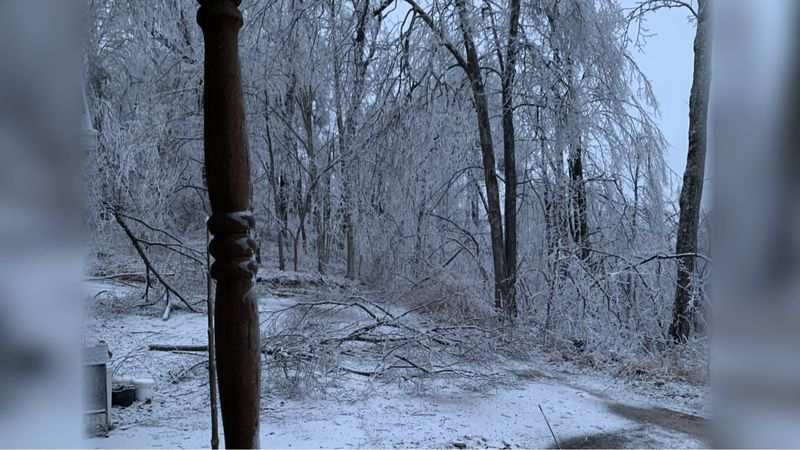 Perry County woman prepares for another winter storm with no power.