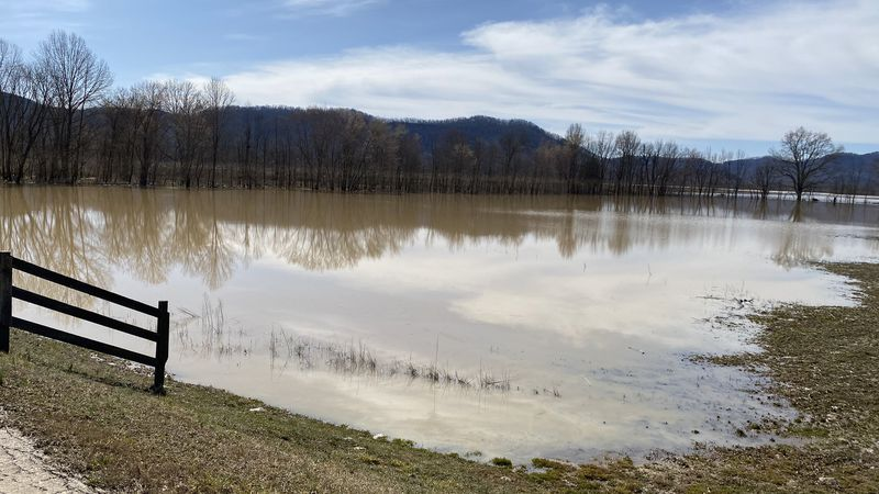 Countless areas have been impacted by this week's flooding. One place that was hit especially...