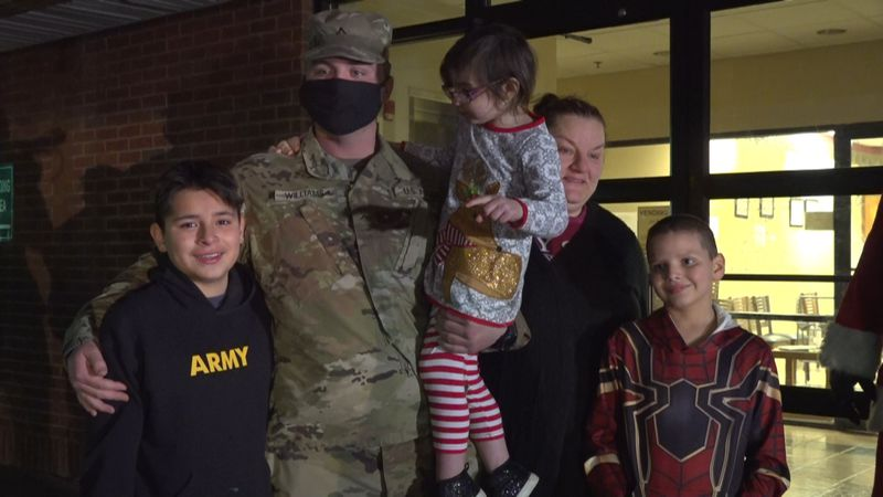 Pikeville military homecoming