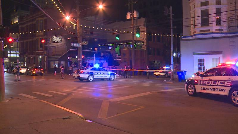 The third shooting happened at the corner of  Short and Mill Streets.