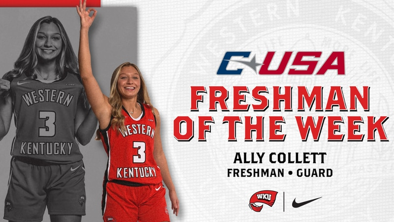 Collett named freshman of the week