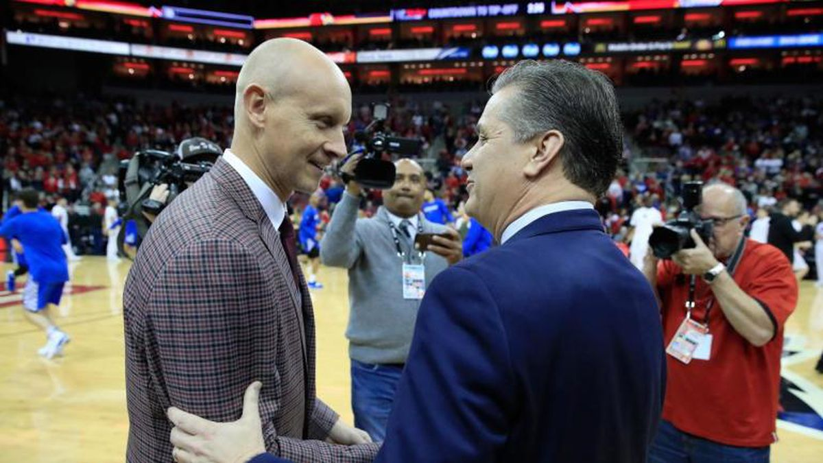 John Calipari and Chris Mack