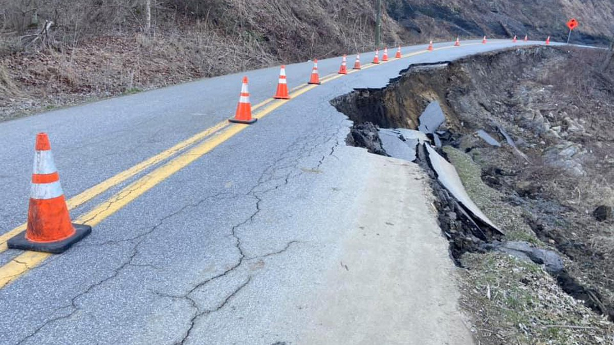 Sawmill Road in Chapmanville is the only way in and out for dozens of families. Now, many are...