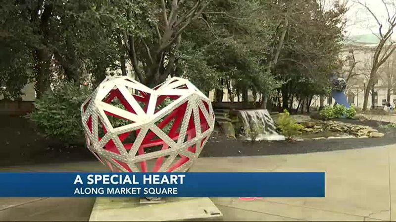 Market square heart