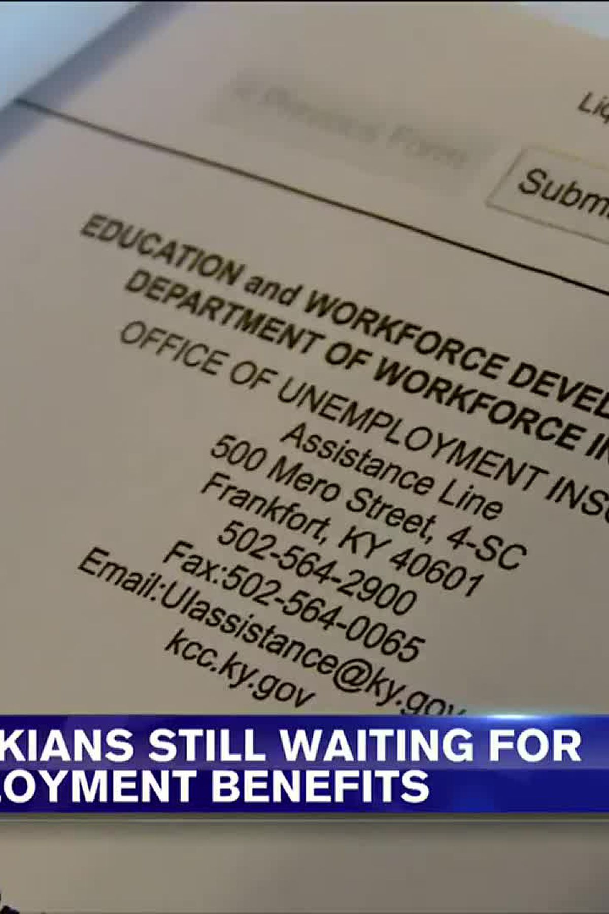 Many Still Waiting For Unemployment Benefits Eastern Kentucky Counties Above State Average