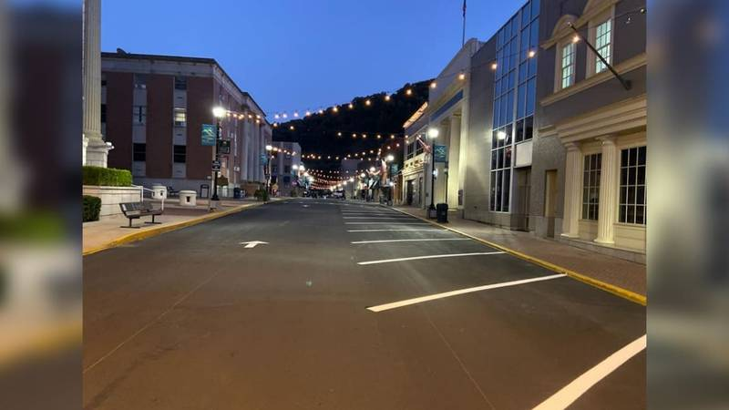 Changes made to Main Street in Hazard