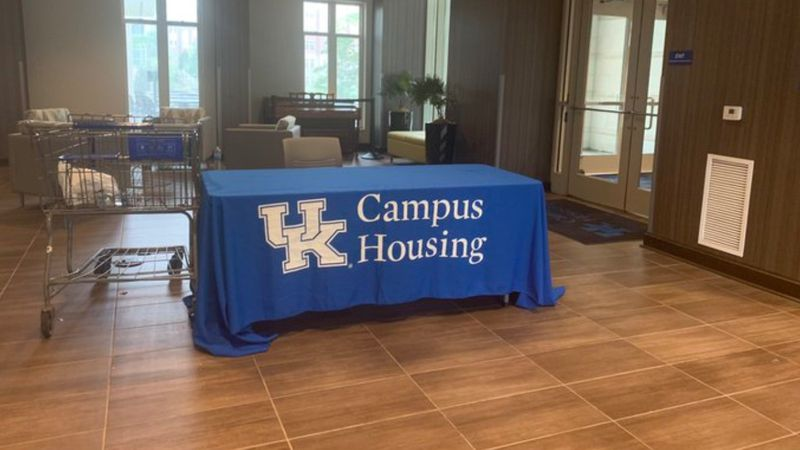 The University of Kentucky has announced plans for students to move into on-campus housing....