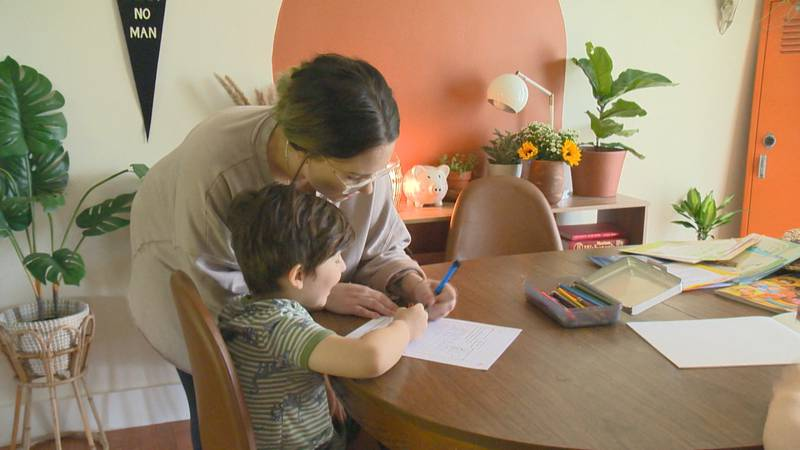 Families are giving a number of different reasons for why they're choosing to homeschool their...