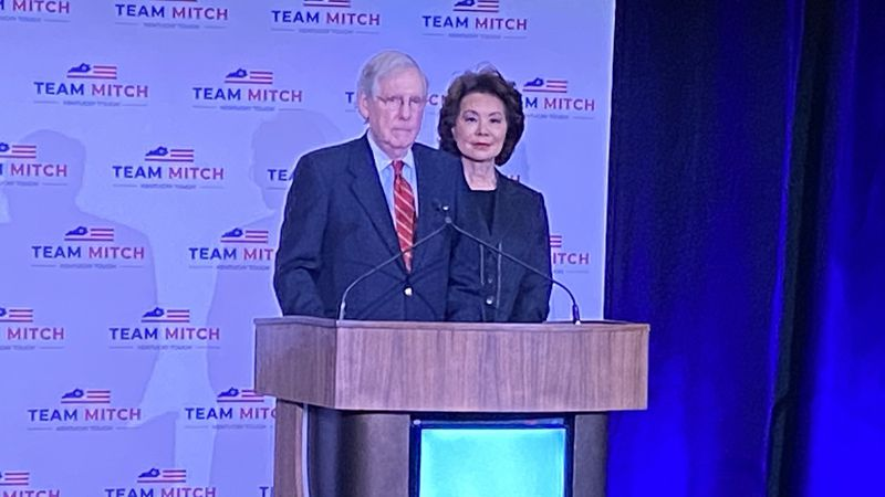 Now that his race is over, Kentucky's senior senator, Mitch McConnell, is closely watching...