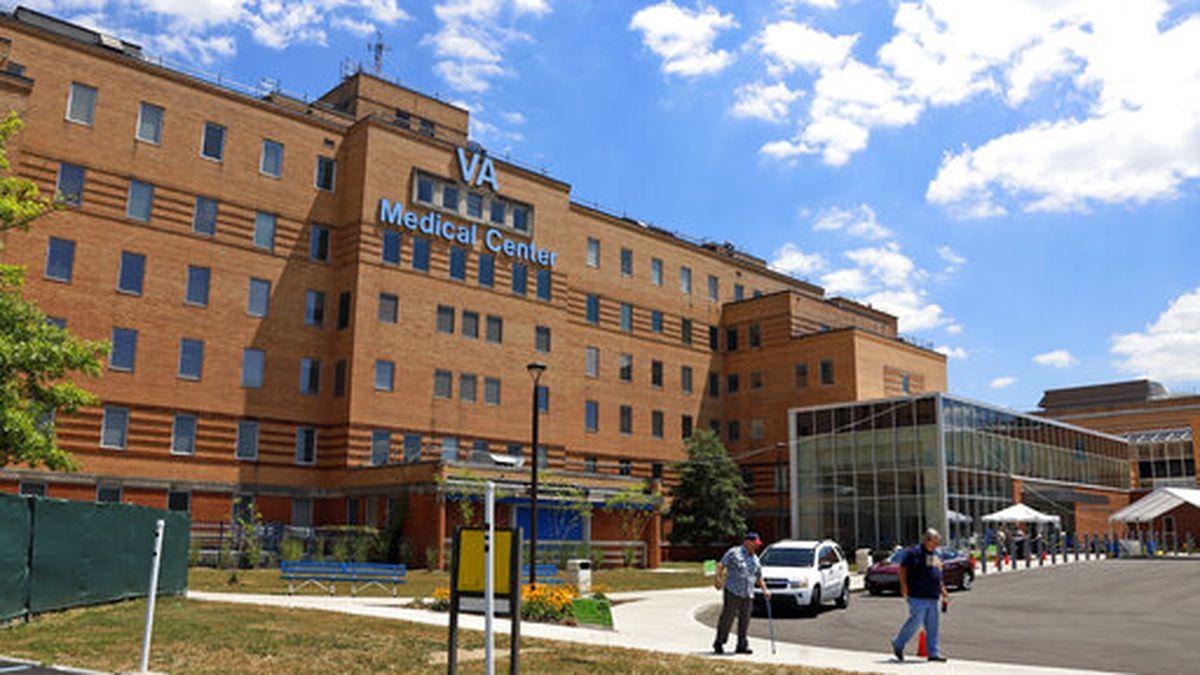 The Louis A. Johnson VA Medical Center in Clarksburg, W.Va., is seen on Tuesday, July 14, 2020. (AP Photo/Gene J. Puskar)