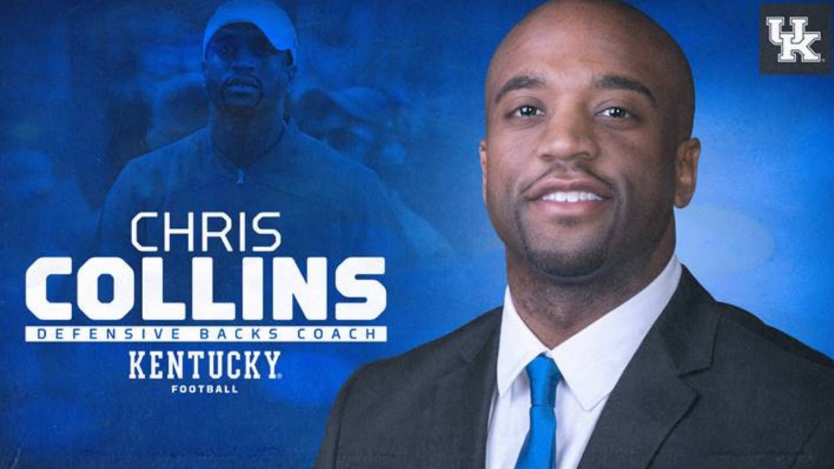 Chris Collins Named Kentucky Defensive Backs Coach