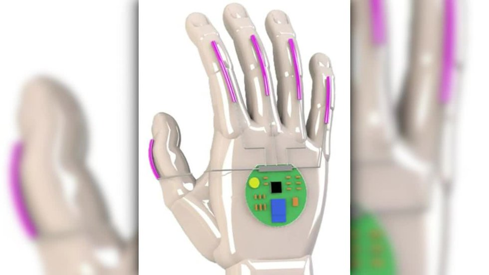 UCLA scientists have developed a glove that translates American Sign Language into speech in...