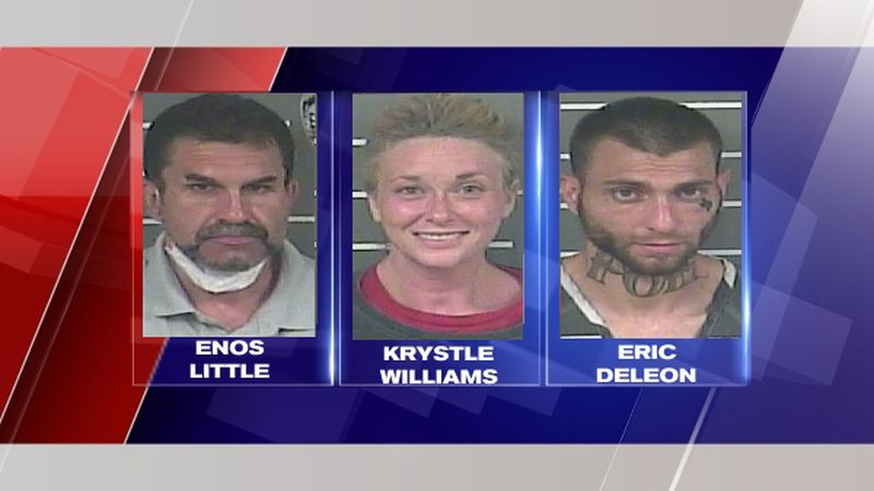 All three pleaded not guilty.