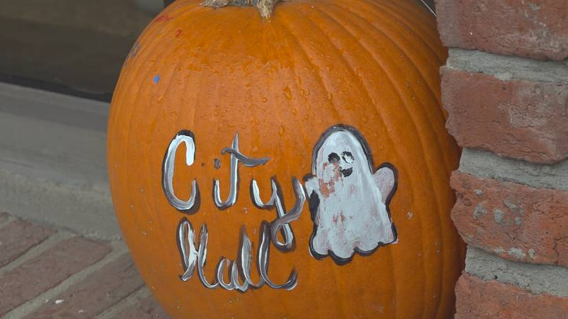 Pumpkins are popping up all around the city as plans are planted for spooky season.