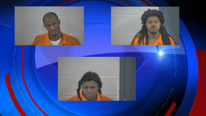 Following a joint drug investigation, three people were arrested in Laurel County.