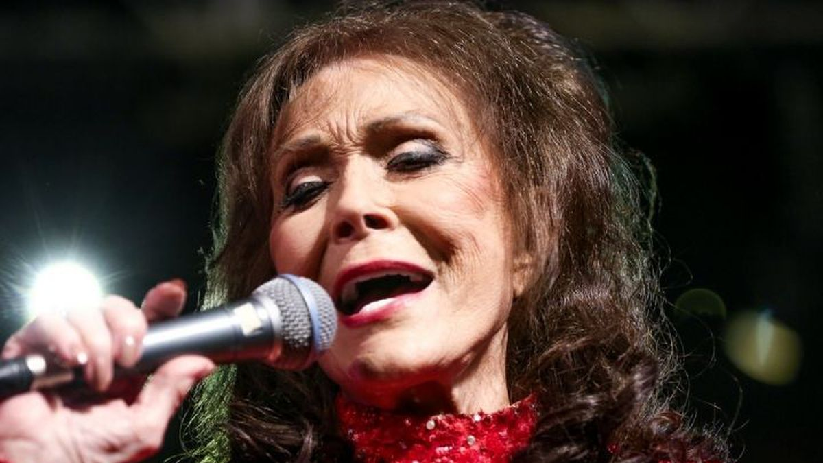 Loretta Lynn performs at the BBC Music Showcase at Stubb's during South By Southwest on...