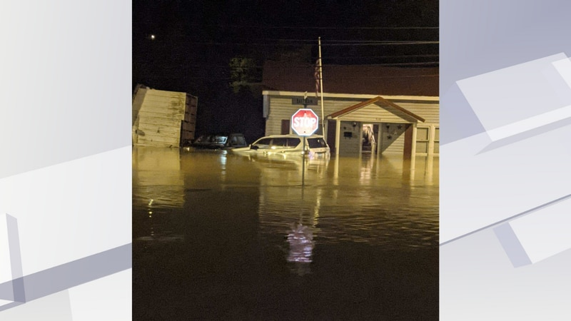 Viewers say homes have been washed off of their foundations.