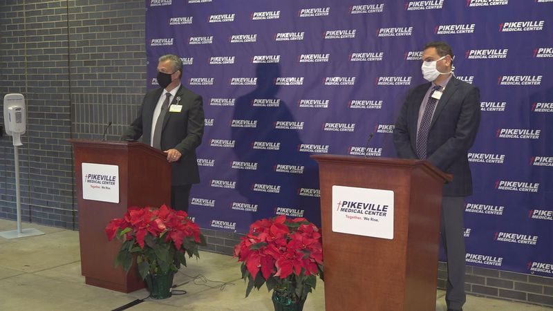 Pikeville Medical center hosted a news conference Friday to discuss the plans for receiving the...