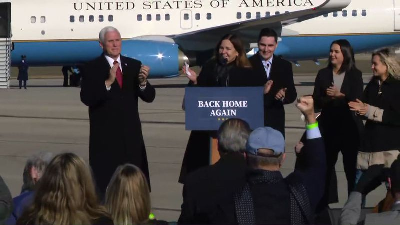 Former Vice President Mike Pence attended President Biden's inauguration, but returned to...