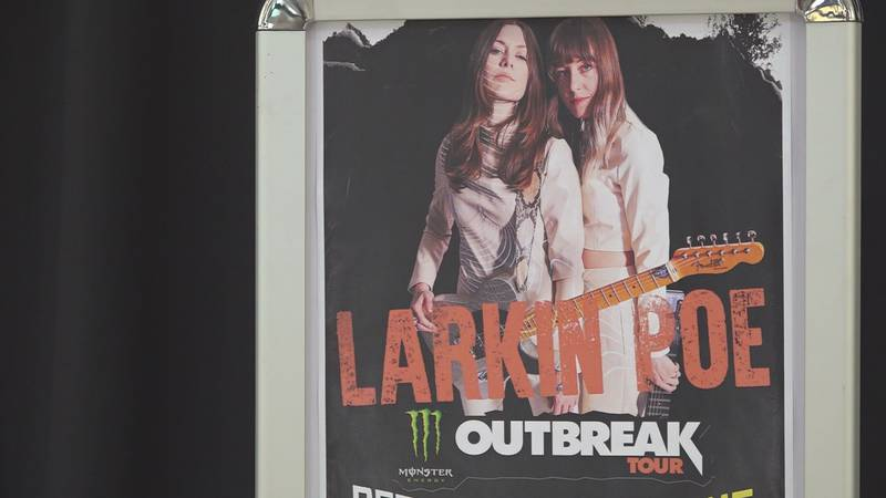 Larkin Poe is hitting the MAC stage Sunday, offering a show that organizers say will be one for...