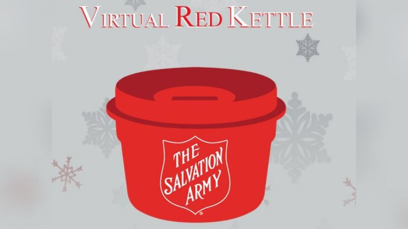 This year, The Salvation Army has a virtual red kettle for donations.