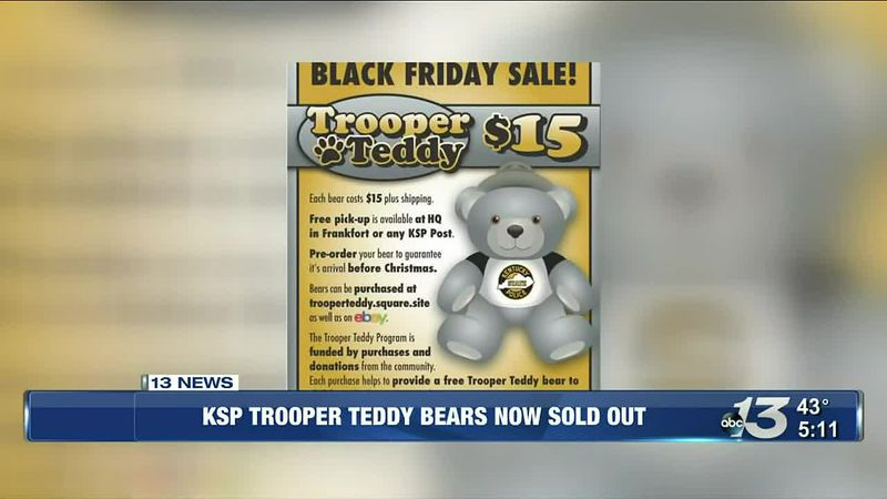 Trooper Teddy Bear @ 5