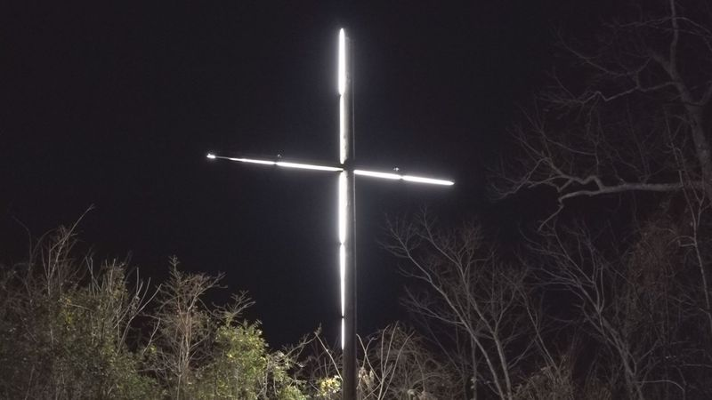 This cross has lit up its Pike County community since 1985.