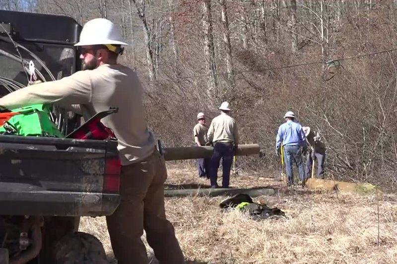 'We'll get 'em on': Johnson County crews wrap day eight of restoration efforts