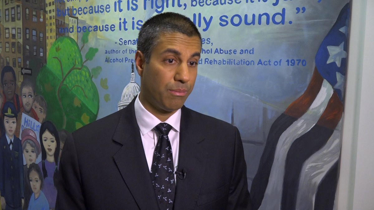 FCC Chairman Ajit Pai on Tuesday discusses how he and the Commission plan to explore the...