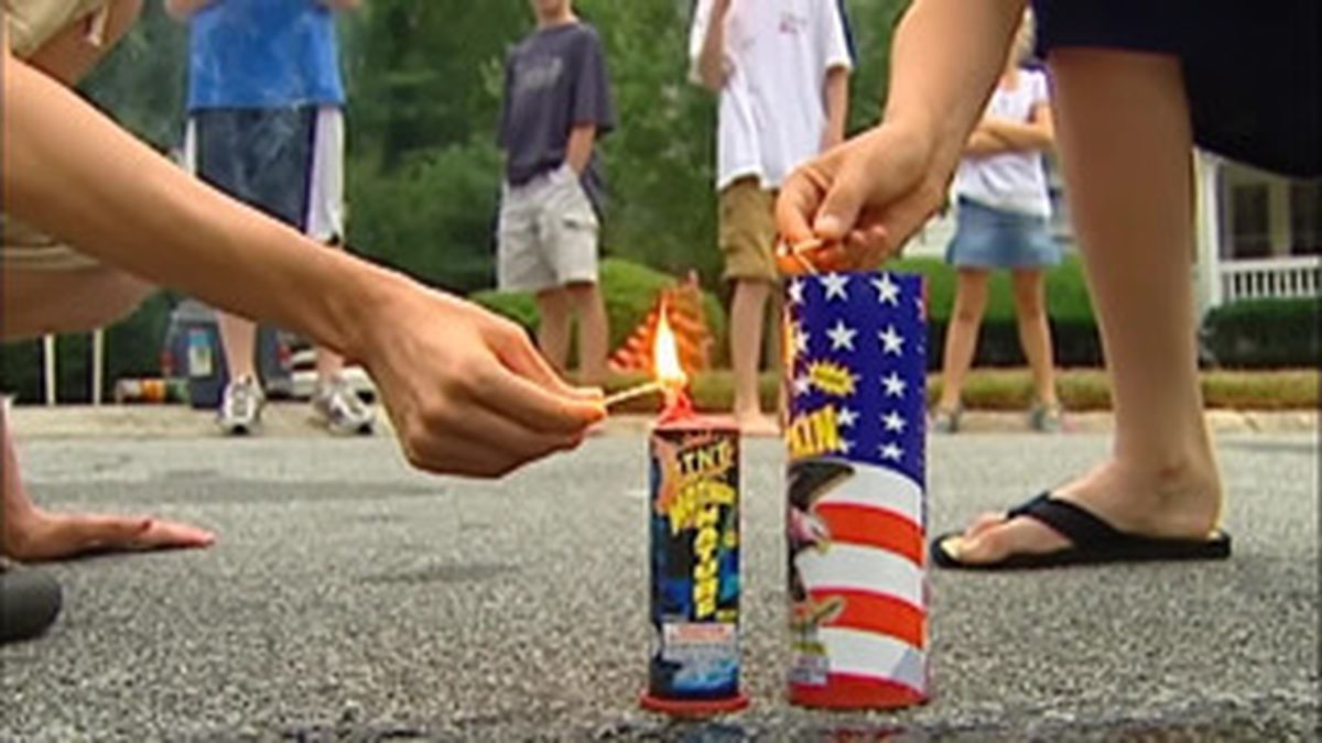 Fireworks are more popular than ever this pandemic Fourth of July.
