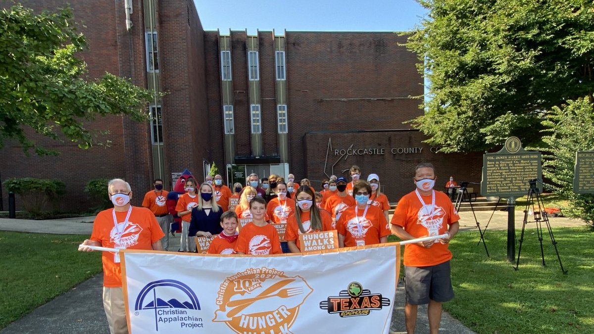Christian Appalachian Project Collects 13,607 Pounds of Food During Annual Hunger Walk