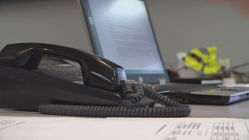 Four phone lines at the Pike county Emergency Management Operations Center are being used to...