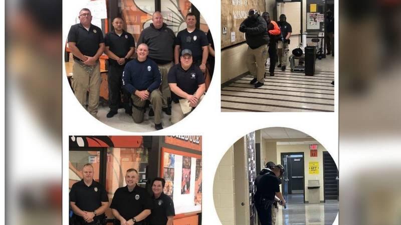 Williamsburg Police Dept. participates in active shooter training